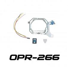 """Переходные рамки OPR-266 c Bosch AL Intellect (AFS) на PS 3.0"""" / 5R/5R-TQ с блоком обхода CAN"""