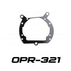 Переходные рамки OPR-321 на BMW X5 для Koito Q5 и Hella 3R