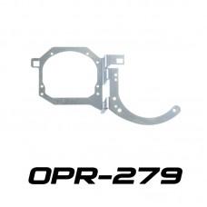 """Переходные рамки OPR-279 на Toyota RAV4 для установки линз 3.0"""" в обе секции"""