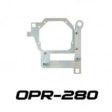 """Переходные рамки OPR-280 на Toyota RAV4 для установки линз 3.0"""" вместо LED линзы"""
