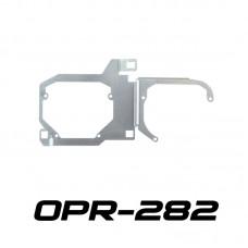"Переходные рамки OPR-282 на Toyota LC200 для установки линз 3.0"" вместо LED линз в обе секции"