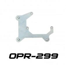 """Переходные рамки OPR-299 на Skoda Superb II для установки линз 3.0"""""""