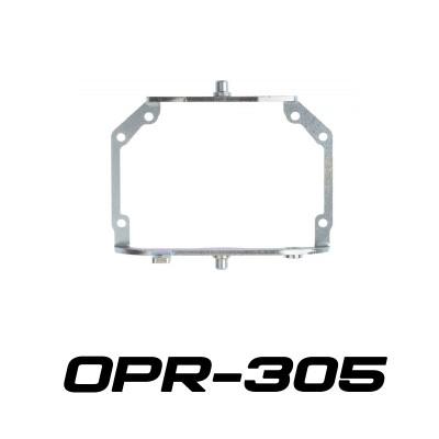 """Переходные рамки OPR-305 на Hyundai Santa Fe III для установки линз 3.0"""""""