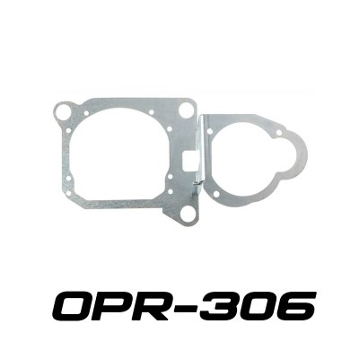 """Переходные рамки OPR-306 на Hyundai Santa Fe III для установки линз 3.0"""""""