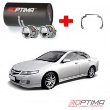Набор для замены штатных линз Honda Accord 7 (2003-2007) на Biled Optima Professional