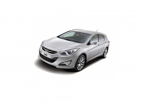 Hyundai I40 замена линз на светодиодные Optima Professional