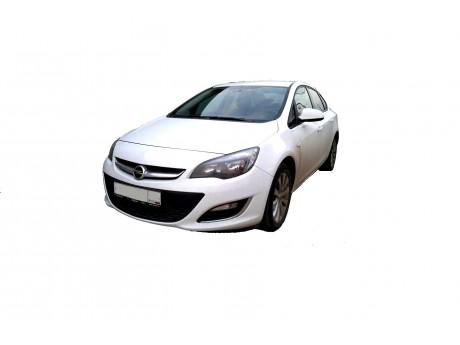 Opel Astra J установка светодиодных линз