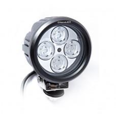 Фара светодиодная NANOLED NL-1540E 40W Euro (ближний) луч, 4 LED CREE X-ML, (ближний свет)